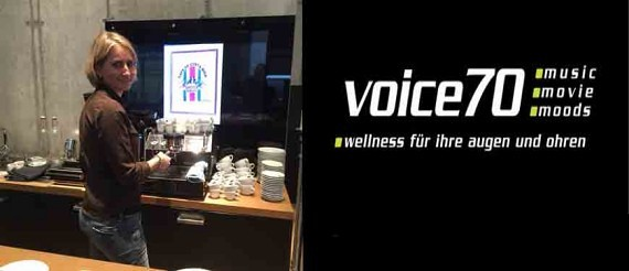 Coffee-Catering bei Voice70